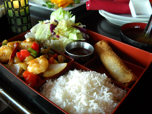 Company asian cuisine style from