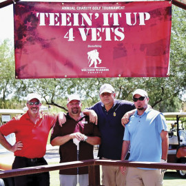 WOUNDED WARRIOR GOLF PIC