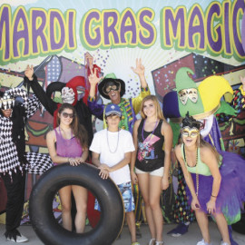 MARDI GRAS FLOATERS #2 (Small)